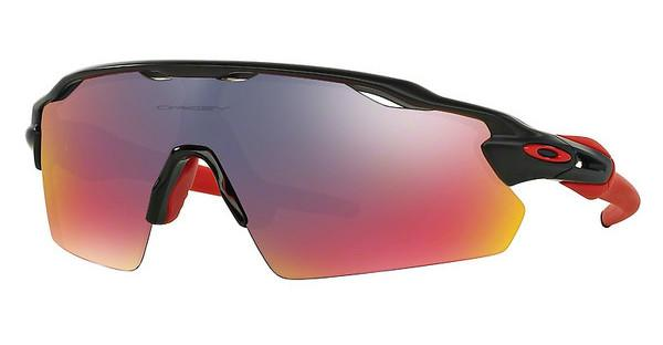 Oakley OO9211 921102 POSITIVE RED IRIDIUMMATTE BLACK INK