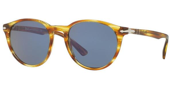 Persol   PO3152S 904356 BLUESTRIPED BROWN YELLOW