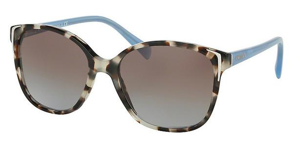 Prada PR 01OS UAO4S2 BLUE GRADIENTSPOTTED OPAL BROWN