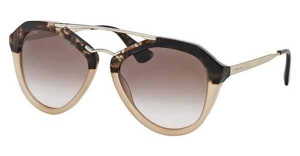 Prada PR 12QS ROZ0A6 BROWN GRADIENTBROWN HAVANA GRAD BROWN