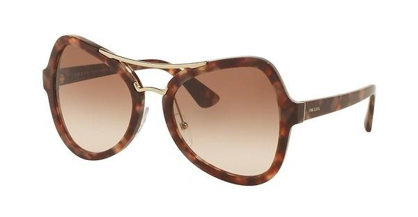 Prada PR 18SS UE00A6 BROWN GRADIENT PINKSPOTTED BROWN PINK