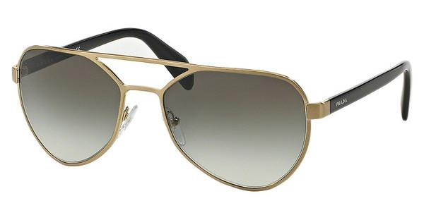 Prada PR 55RS MA10A7 GREY GRADIENTBRUSHED PALE GOLD