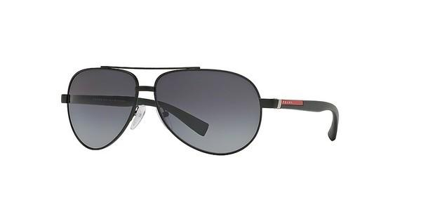 Prada Sport PS 51NS 1BO5W1 POLAR GRAY GRADIENTBLACK DEMI SHINY