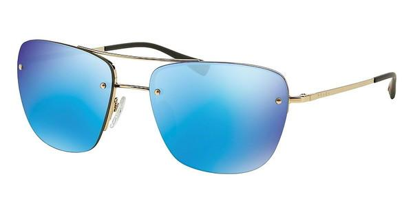 Prada Sport PS 52RS ZVN5M2 LIGHT GREEN MIRROR BLUEPALE GOLD