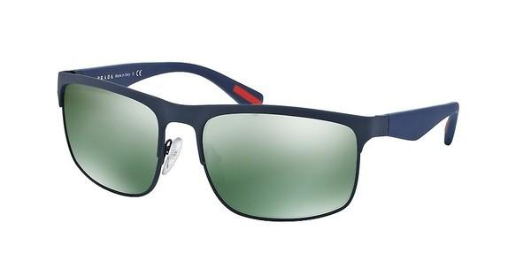 Prada Sport PS 56PS TFY3C0 LIGHT GREEN MIRROR PETROLBLUE RUBBER