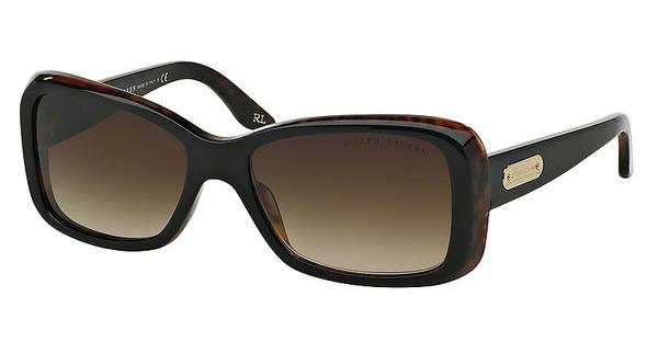 Ralph Lauren RL8066 526013 BROWN GRADIENTTOP BLACK-HAVANA