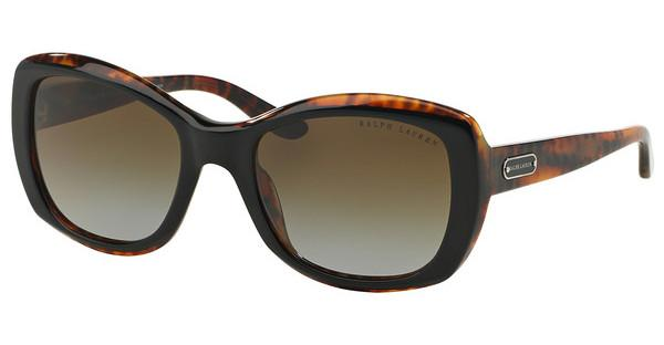Ralph Lauren RL8132 5260T5 POLAR BROWN GRADIENTTOP BLACK/HAVANA