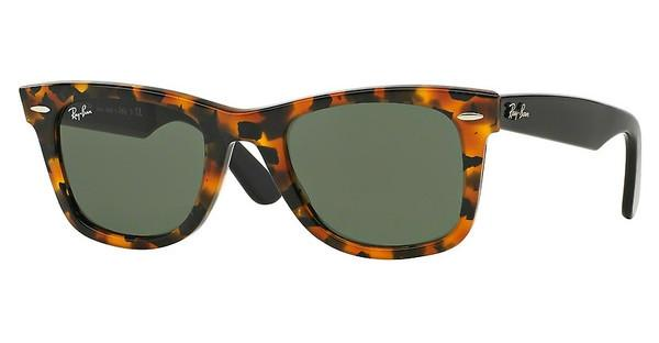 Ray-Ban RB2140 1157 GREENSPOTTED BLACK HAVANA