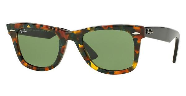 Ray-Ban RB2140 11594E GREENSPOTTED GREEN HAVANA
