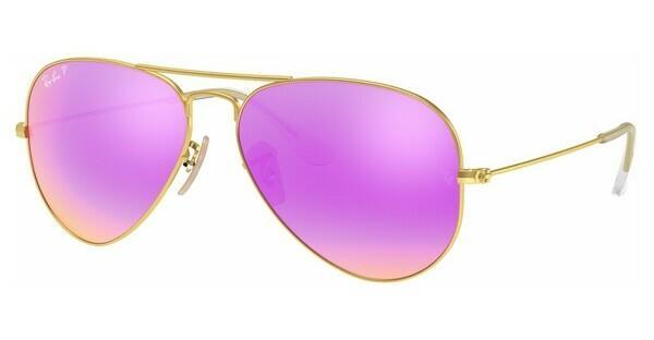 Ray Ban Aviator Verspiegelt Pink