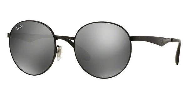 Ray-Ban RB3537 002/6G GREY MIRROR SILVERSHINY BLACK