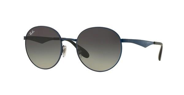 Ray-Ban   RB3537 185/11 LIGHT GREY GRAD GREYSHINY BLUE