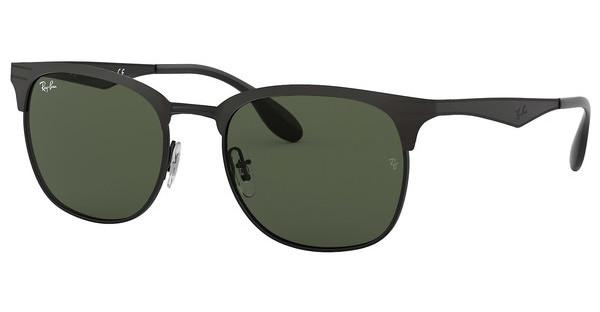 Ray-Ban   RB3538 186/71 DARK GREENTOP MATTE BLACK ON SHINY BLK