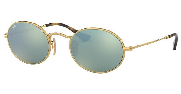 Ray-Ban RB3547N 001/30 GREY FLASHGOLD