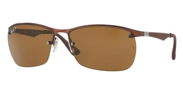 Ray-Ban   RB3550 012/83 POLAR BROWNMATTE DARK BROWN