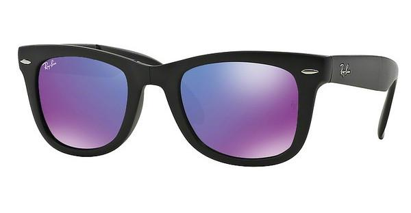 Ray-Ban RB4105 601S1M GREY MIRROR PURPLEMATTE BLACK