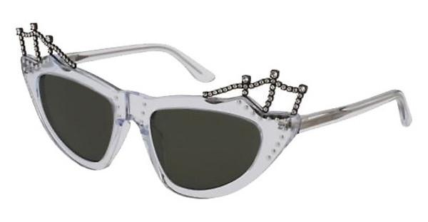 Saint Laurent SL 122 TIARA 002 SMOKECRYSTAL, CRYSTAL