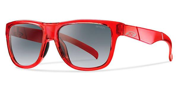 Smith LOWDOWN SLIM 6XQ/9O DARK GREY SFCRYST RED (DARK GREY SF)