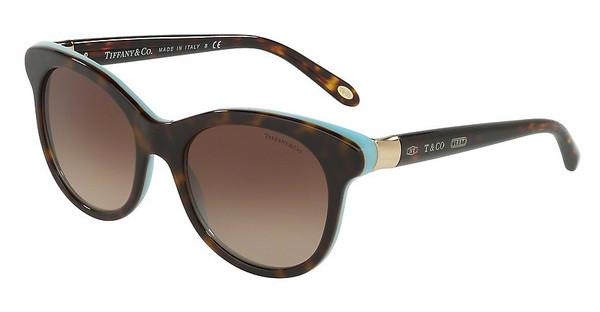 Tiffany TF4125 81343B BROWN GRADIENTHAVANA/BLUE