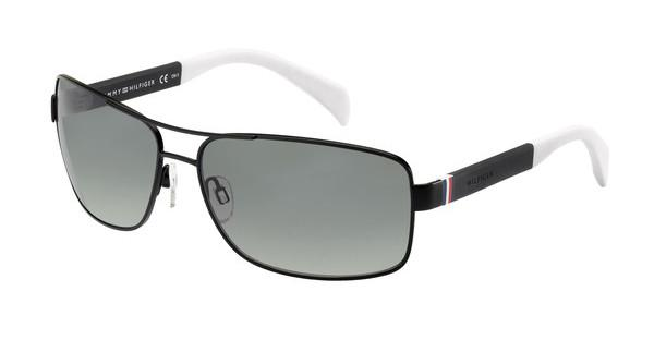 Tommy Hilfiger TH 1258/S 4NL/WJ GREY SF PZMTBLK WHT (GREY SF PZ)