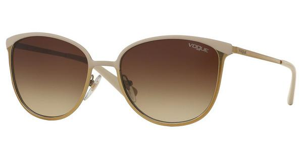 Vogue VO4002S 996S13 BROWN GRADIENTMATTE BEIGE/BRUSHED GOLD