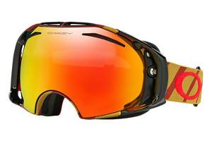 Oakley OO7037 703754 FIRE IRIDIUMHAZARD BAR BURNT RED