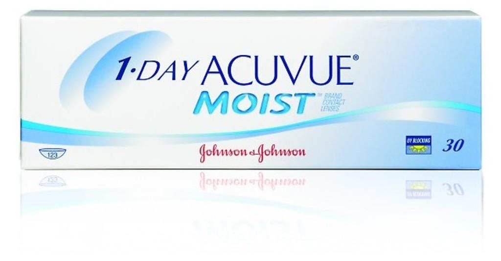 Johnson & Johnson   1 DAY ACUVUE MOIST 1DM-90P-REV