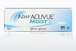 Kontaktlinsen Johnson & Johnson 1 DAY ACUVUE MOIST 1DM-90P-REV
