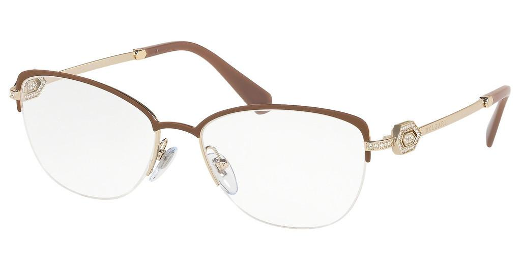 Bvlgari   BV2210B 2036 MATTE TURTLEDOVE/PALE GOLD