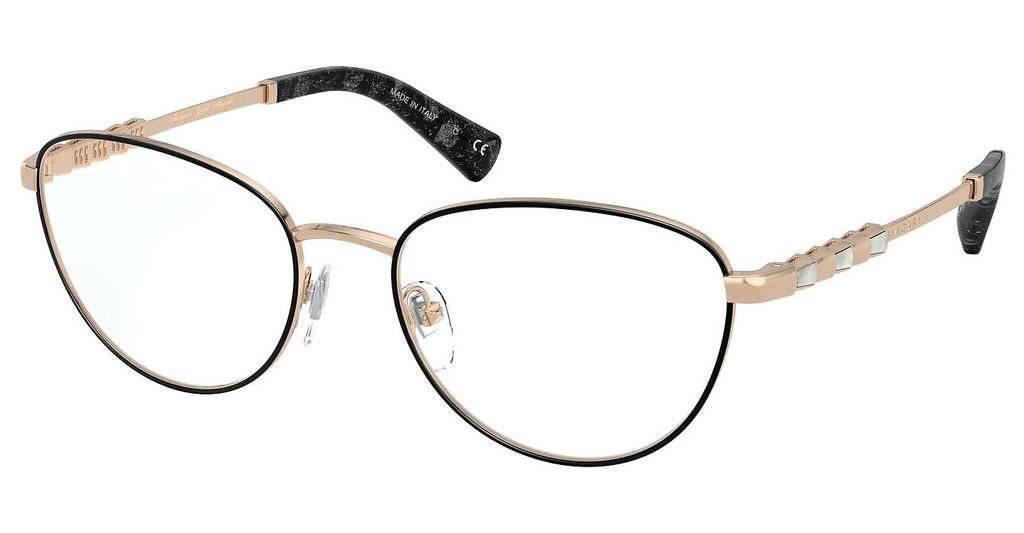 Bvlgari   BV2215KB 2056 BLACK/PINK GOLD PLATED