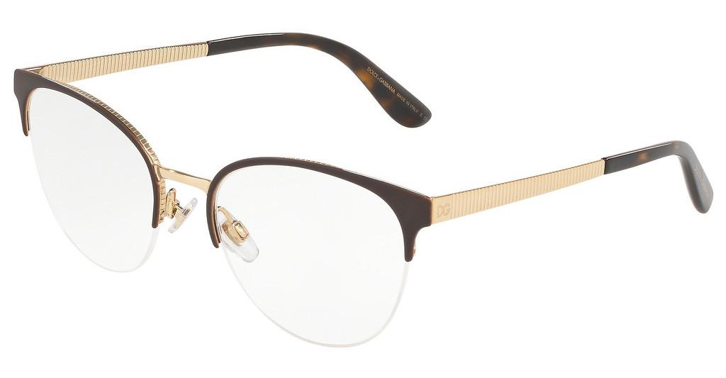 Dolce & Gabbana   DG1311 1320 MATTE BROWN/GOLD