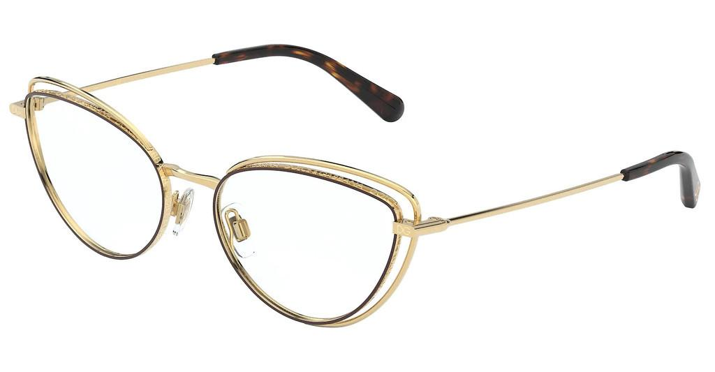 Dolce & Gabbana   DG1326 1344 GOLD/BROWN
