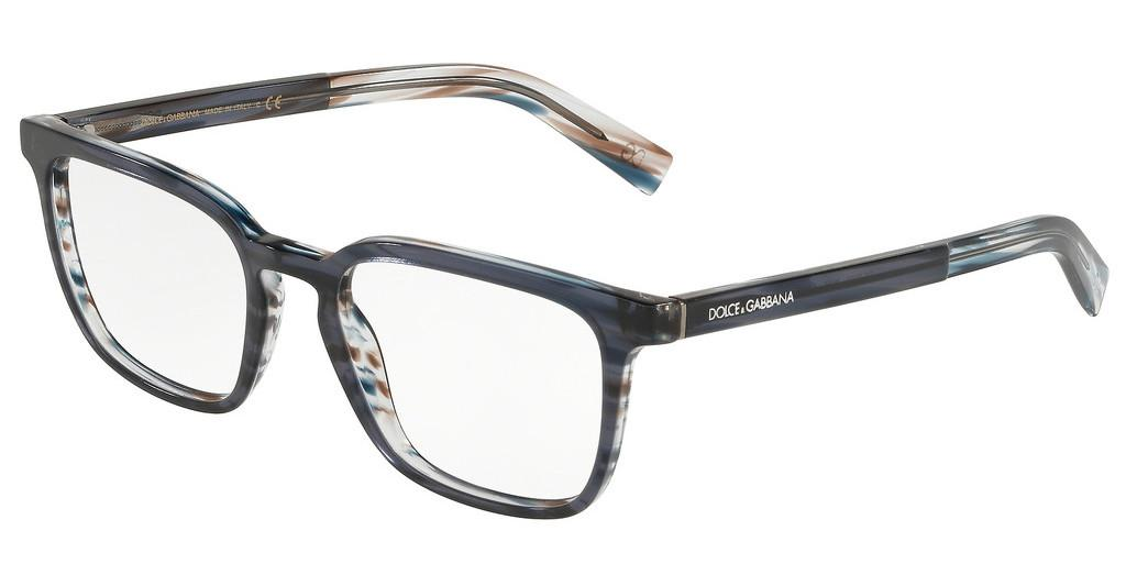 Dolce & Gabbana   DG3307 3196 TRANSPARENT BLUE/STRIPED BLUE