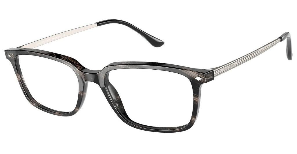 Giorgio Armani   AR7183 5622 SHINY STRIPPED GREY