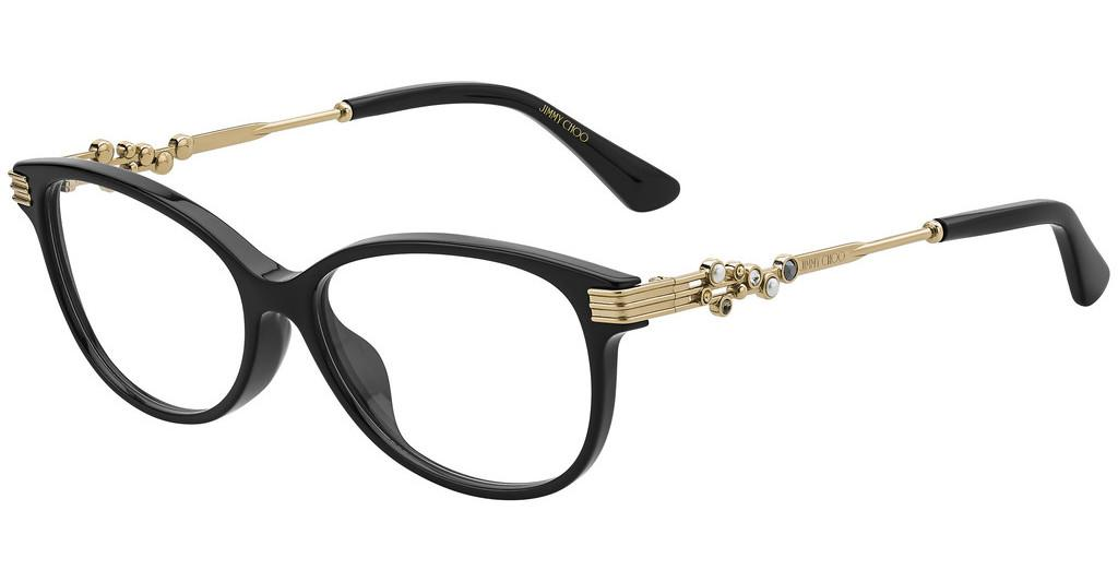 Jimmy Choo   JC221/F 807 BLACK