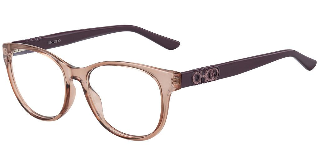 Jimmy Choo   JC241 G3I DARKMAUVE