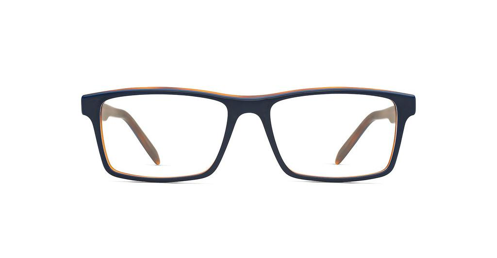 Maui Jim   MJO2117 08MT Matte Navy with Rootbeer with Mountain Core