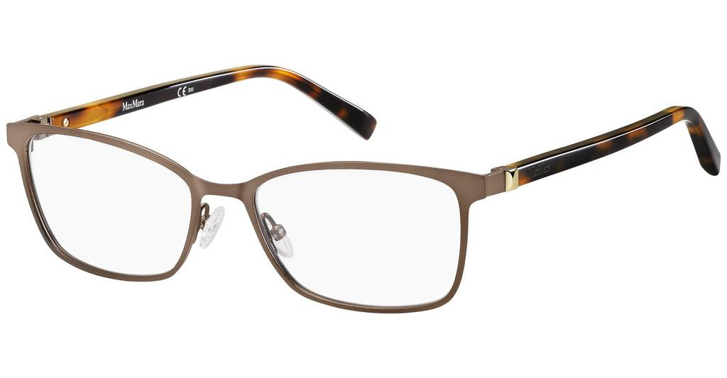 Max Mara   MM 1385 4IN MTT BROWN