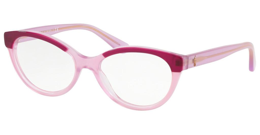 Polo   PH2204 5685 TOP FUXIA ON OPALINE ROSE
