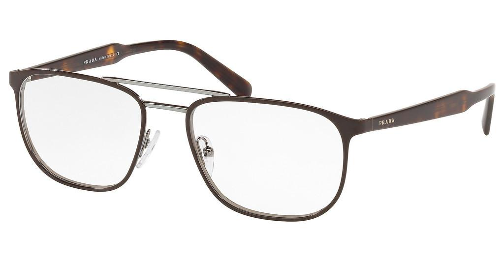 Prada   PR 54XV 03G1O1 TOP BROWN ON GUNMETAL