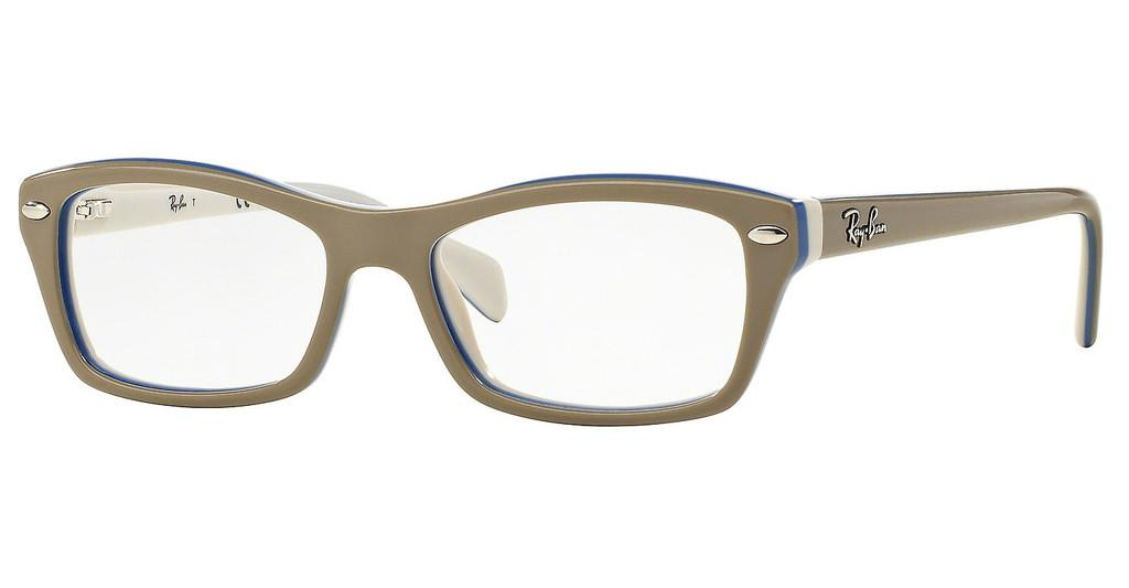 Ray-Ban Junior   RY1550 3658 TOP GREY ON AZURE WHITE