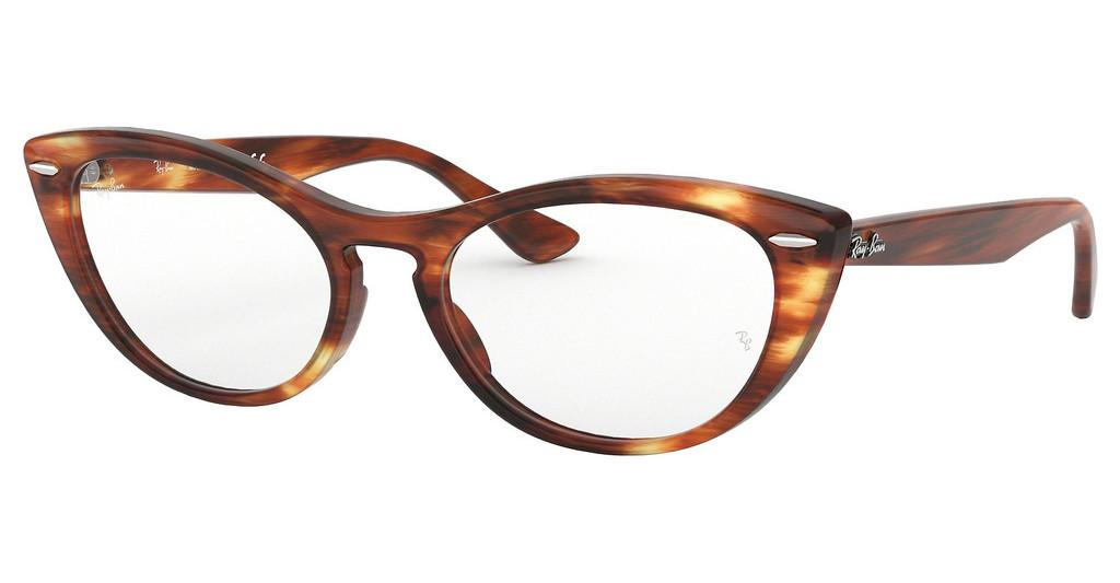 Ray-Ban   RX4314V 2144 STRIPPED RED HAVANA