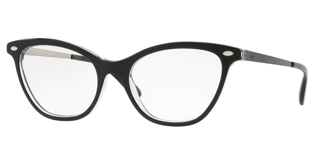 Ray-Ban   RX5360 2034 TOP BLACK ON TRANSPARENT