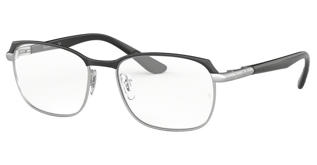 Ray-Ban   RX6420 2861 SILVER ON TOP BLACK