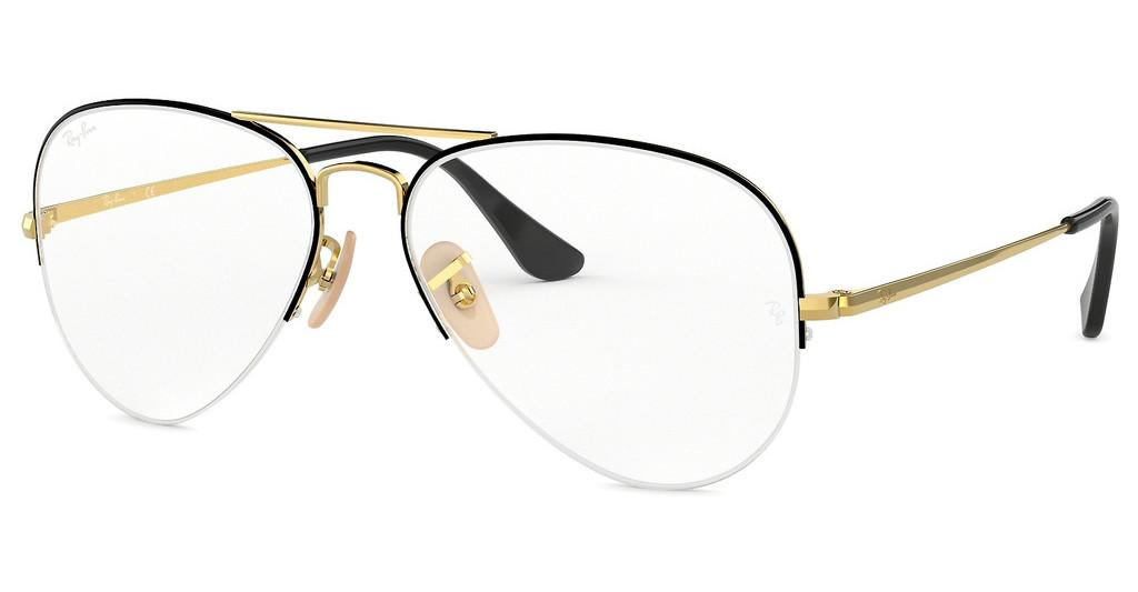 Ray-Ban   RX6589 2946 GOLD TOP BLACK