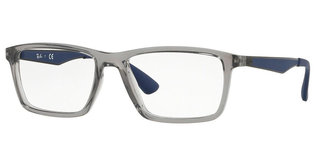 Ray-Ban   RX7056 5814 TRASPARENT GREY