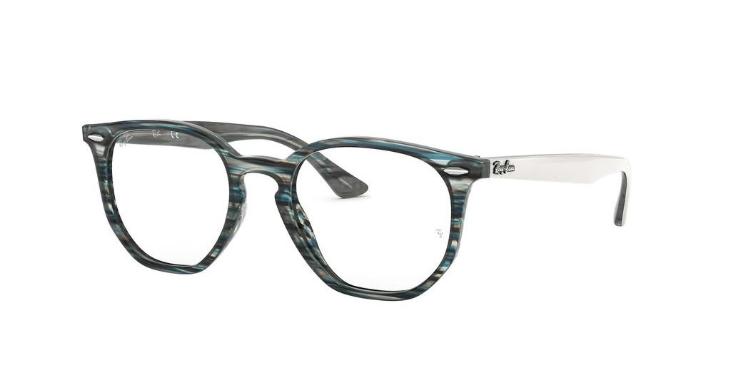 Ray-Ban   RX7151 5801 BLUE/GREY STRIPPED