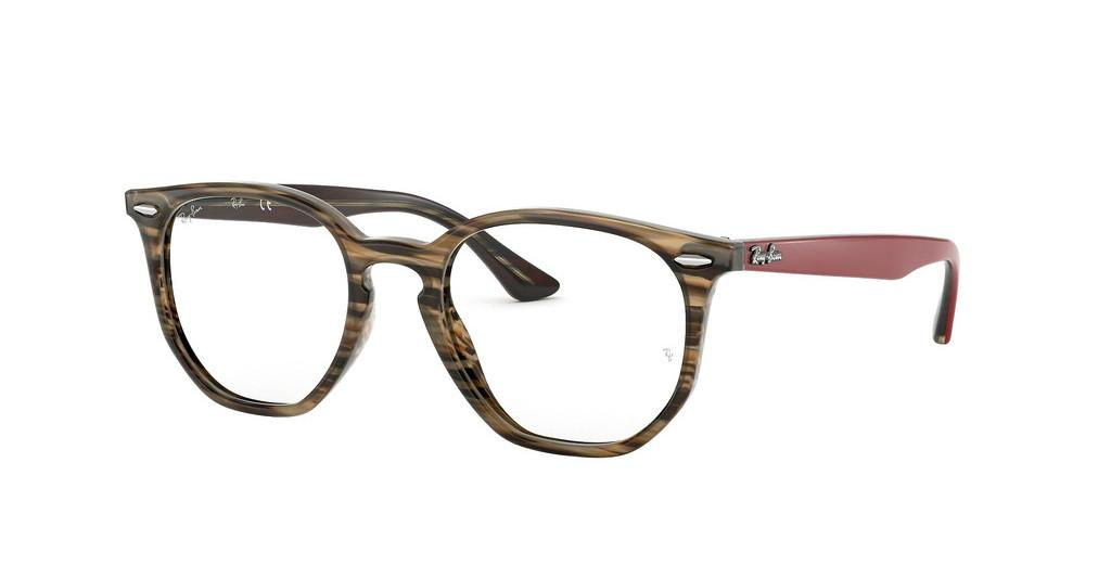 Ray-Ban   RX7151 5802 BROWN/GREY STRIPPED