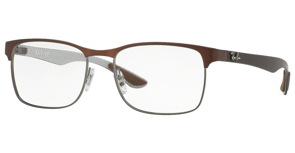 Ray-Ban   RX8416 2915 GUNMETAL/MATTE BROWN