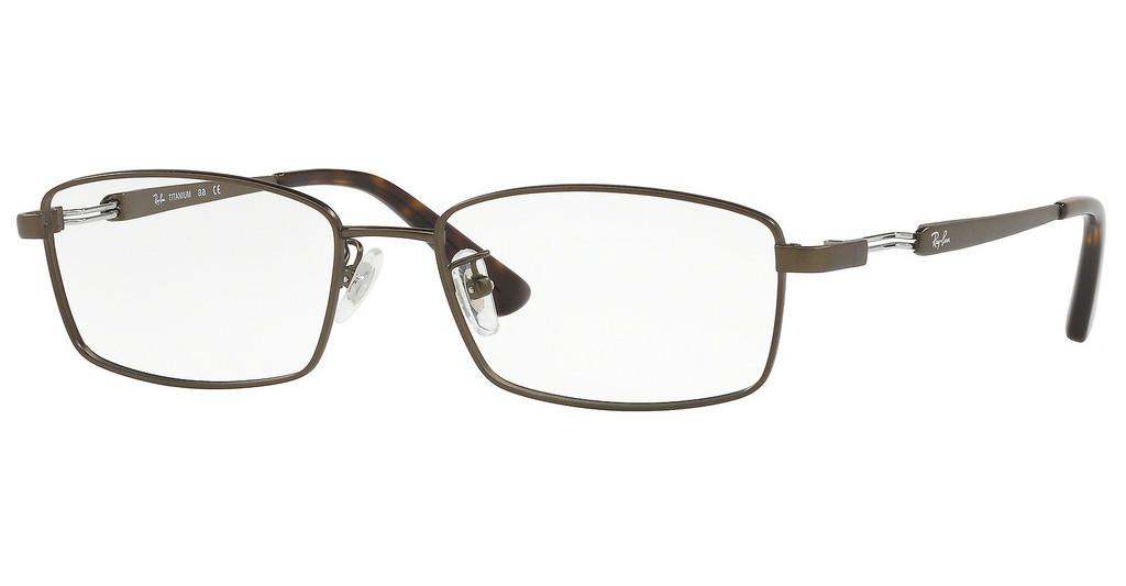 Ray-Ban   RX8745D 1020 MATTE DARK BROWN